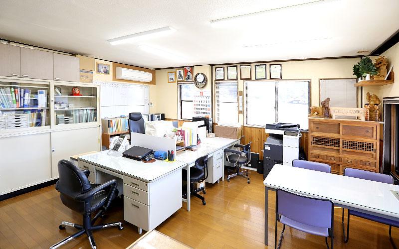 義 建築工業 本社事務所